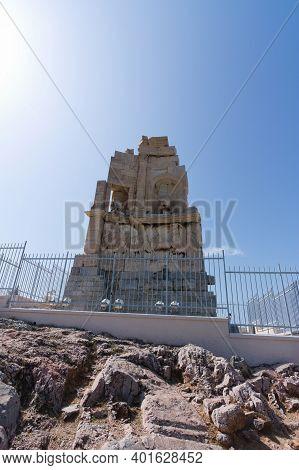 The Philopappos Monument, Ancient Greek Mausoleum And Monument Dedicated To Gaius Julius Antiochus E