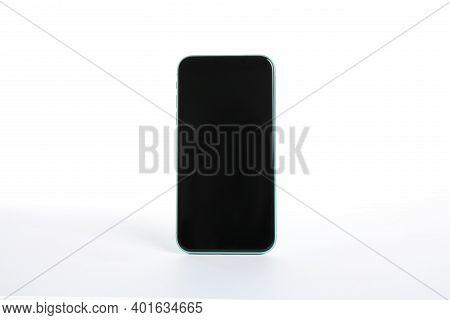 Mykolaiv, Ukraine - July 9, 2020: Iphone 11 Isolated On White. Mockup For Design