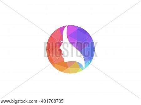 Woman Face Beauty And Spa Logo Design Vector. Beauty Logo Design