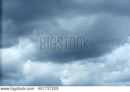 Sky Clouds And Clouds Background. High Resolution Photo.