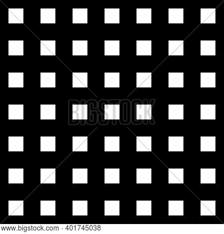 Grid Of Intersecting Lines. Abstract Seamless Patterns With Squares