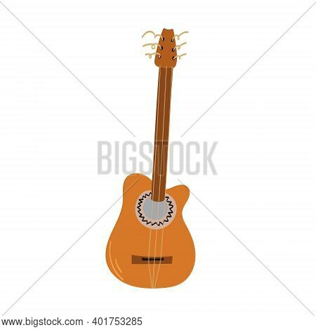 Hand Drawn Style Vector Illustraction Of Musical Instrument - Cuban Tres