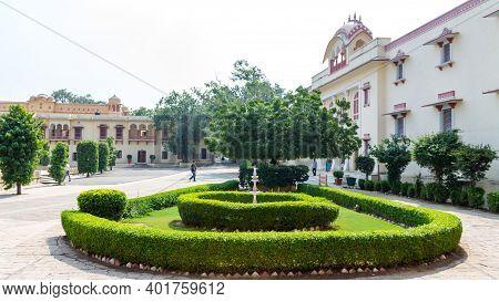 Jaipur, Rajasthan - 18 Oct, 2019 - The City Palace Jaipur Was Established By Maharaja Sawai Jai Sing