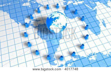 Pawns Around World