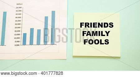 Friends Family Fools - Fff, Which Means That The Close Circle Who Believed In The Idea Of The Projec