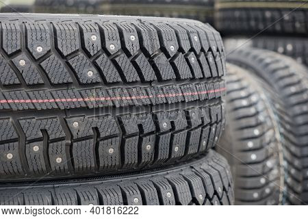 Take Care Of Your Safety And The Safety Of Your Family With Studded Winter Tires, For Snowy Climates