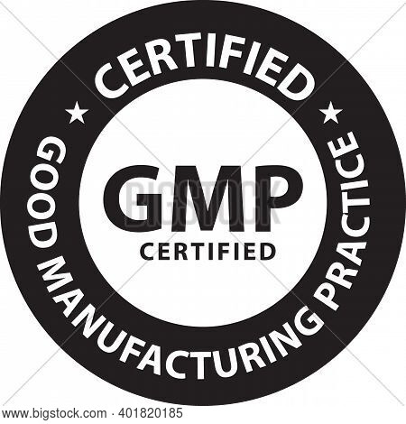 Good Manufacturing Practice (gmp) Certified Stamp Vector