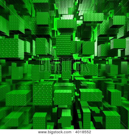 Green Technologic Cubes