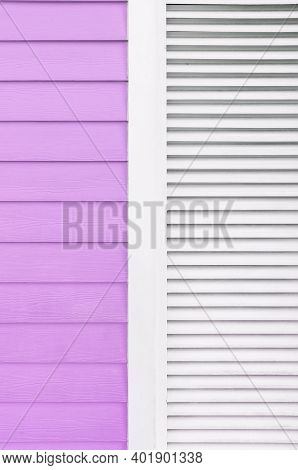 Details Of Colorful Modern Building. Abstract Background Pattern