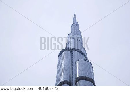 Dubai, Uae. - March 25 : Burj Dubai - Tallest Building In The World, At 828 M. On March 25,2013 In D