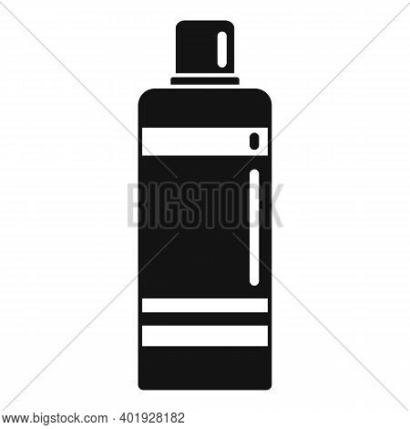 Shampoo Bottle Icon. Simple Illustration Of Shampoo Bottle Vector Icon For Web Design Isolated On Wh