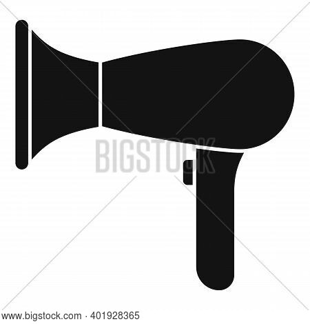 Professional Hair Dryer Icon. Simple Illustration Of Professional Hair Dryer Vector Icon For Web Des