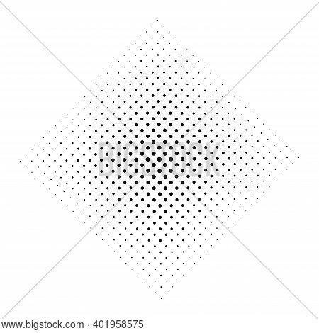 Halftone Circles, Halftone Dot Pattern. Circle Halftone Element