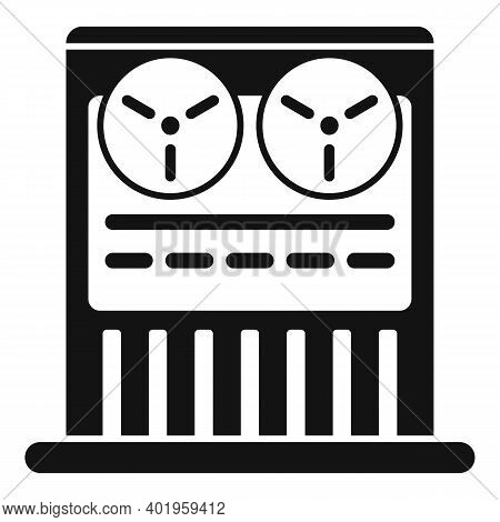 Old Video Recorder Icon. Simple Illustration Of Old Video Recorder Vector Icon For Web Design Isolat