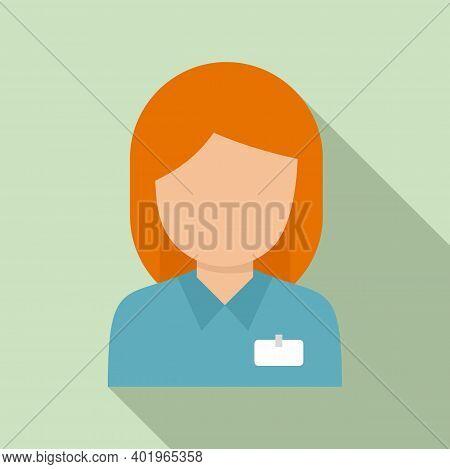 Sociology Manager Icon. Flat Illustration Of Sociology Manager Vector Icon For Web Design