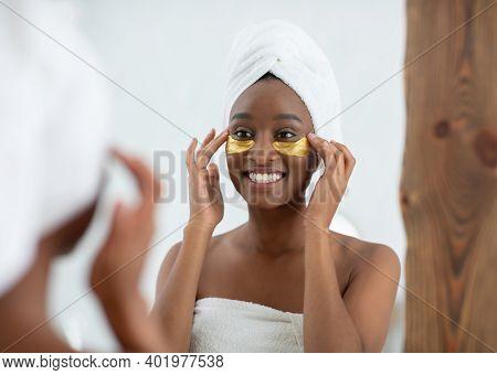 Under Eye Collagen Gold Pads, Beauty Skin Care, Anti-aging Moisturizing Eye Mask, Skin Treatment And