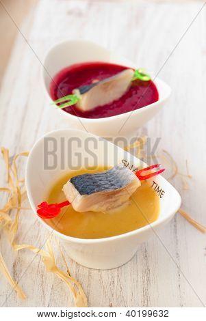 herring in sauce
