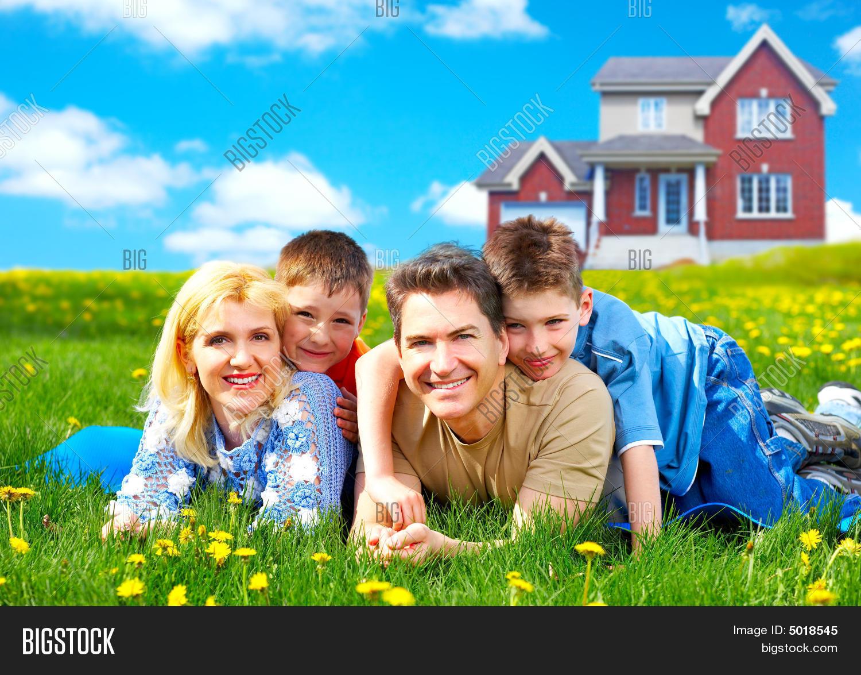 Happy Family Image Photo Free Trial Bigstock