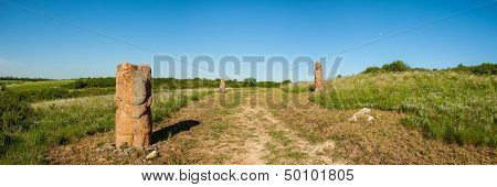 The Road In The Steppe