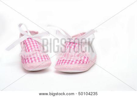 Pair Of Pink Booties
