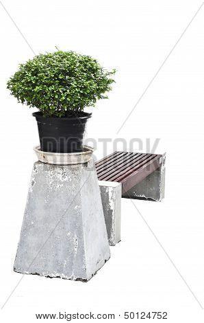 Chair In Gaden Die Cut