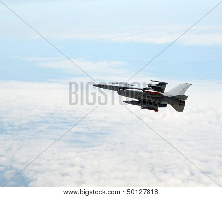 Jetfighter At Altitude