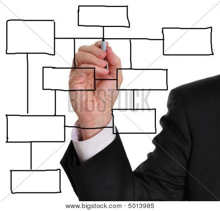 Blank Business Diagram