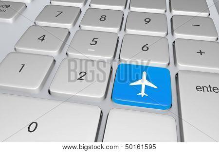 Flight Booking Button
