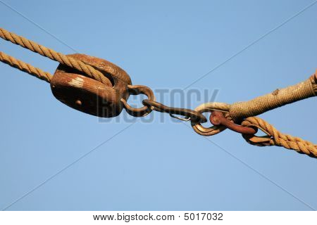 Seil und tackle