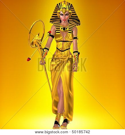 Golden Pharaoh Queen