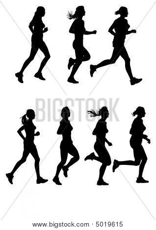 Damen marathon