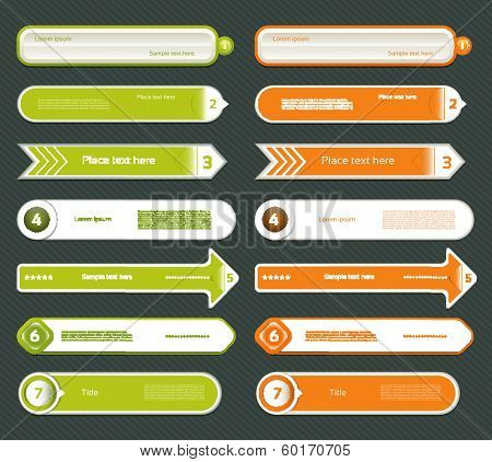 Modern infographics options banner. Vector illustration. can be used for workflow layout diagram number options web design prints. poster