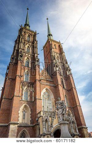 Metropolitan Cathedral John the Baptist Wroclaw
