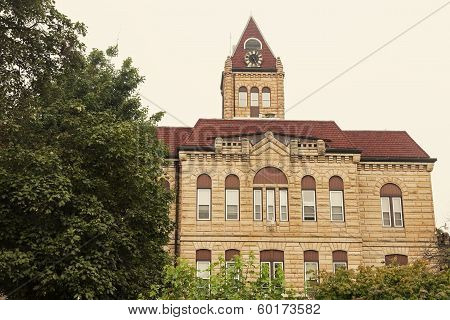 Old Courthouse In Carrollton, Greene County