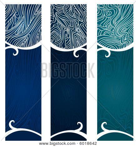 Water Swirl Banners