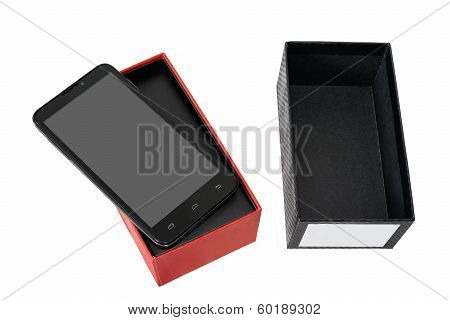 New Smart Phone In The Box.