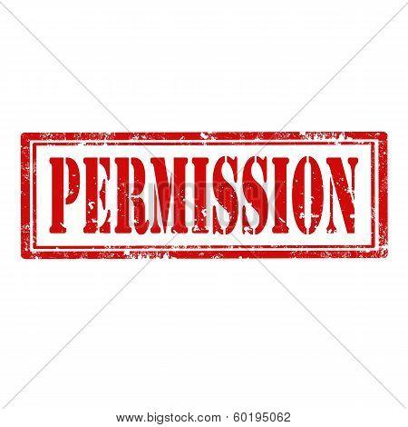 Permission-stamp