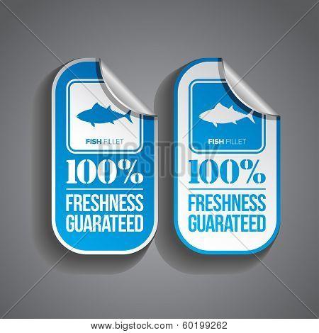 Food Sticker Fish
