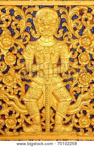 A beautiful golden giant
