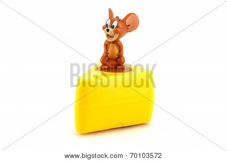 Jerry On A Pice Of Cheese