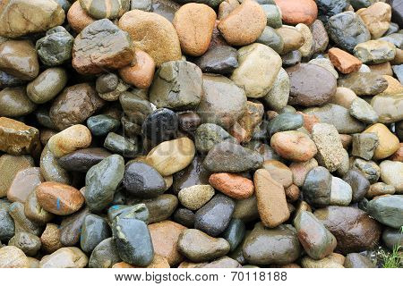 Pile of Large Rocks