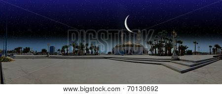 night over city of Jeddah
