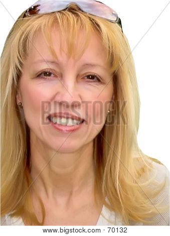 Blonde Woman Headshot