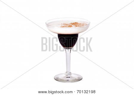 Baileys cocktail black and white