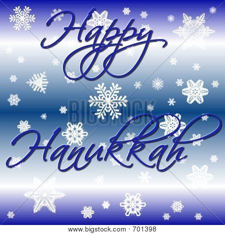Snowy Hanukkah