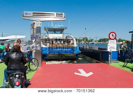 Amsterdam Ferry Boat