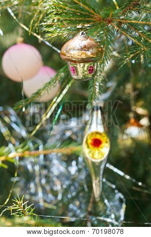 House, Balls, Lantern Christmas Decoration
