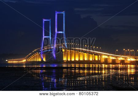 Suramadu bridge Indonesia