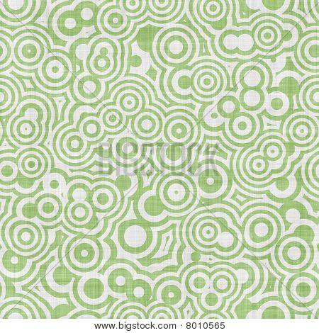 Green White Op Art Seamless