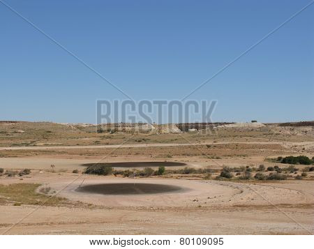 The golf courses of Coober Pedy